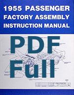 1955 1957 chevrolet assembly manuals pdf rh trifivechevys com 1955 chevy assembly manual 1955 chevrolet shop manual pdf